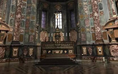 Arte: dopo 20 anni finito restauro cappella Principi Firenze