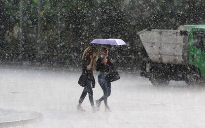 Meteo:Toscana,piogge ovunque pure domani