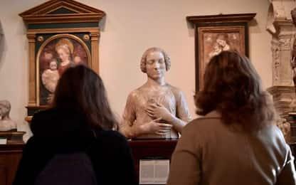 Riaperto il Bargello a Firenze, primi a visitarlo due studenti