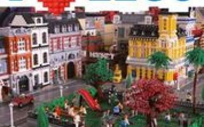 A Pontedera la mostra 'I love Lego', con oltre 1 mln mattoncini