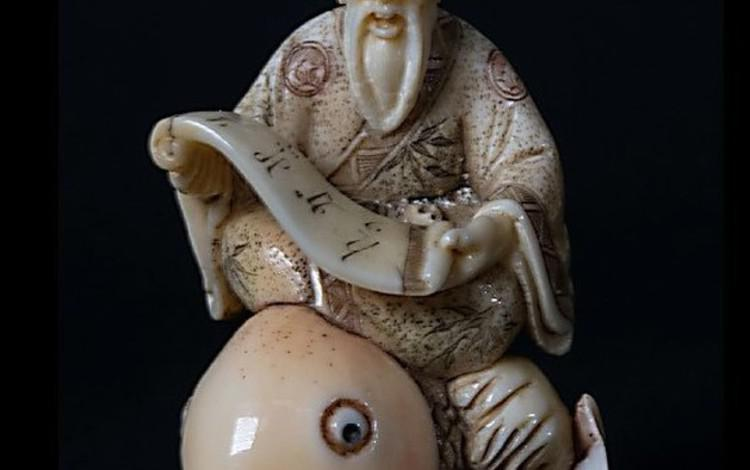 Netsuke, piccoli grandi capolavori in mostra a Pisa