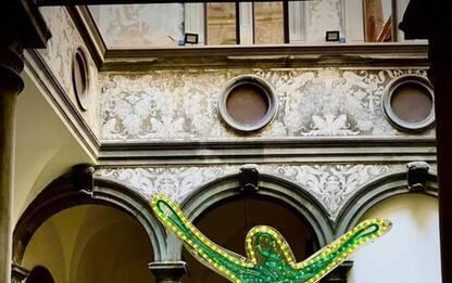 Collezione Casamonti, opera Lodola omaggio a Maggio musicale