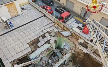 Crolla solaio in asilo Livorno, nessun ferito
