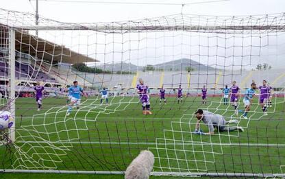 Calcio: Fiorentina-Napoli 0-2
