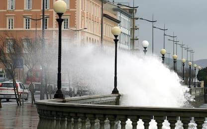 Maltempo: in Toscana codice giallo per mareggiate