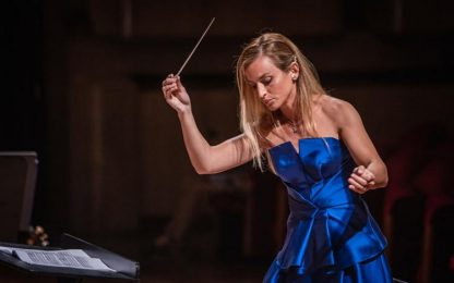 Musica: Beatrice Venezi dirige concerto a Montepulciano
