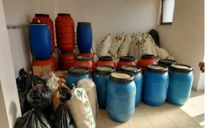 Droga: sequestro 8 quintali marijuana in Sardegna, 2 arresti