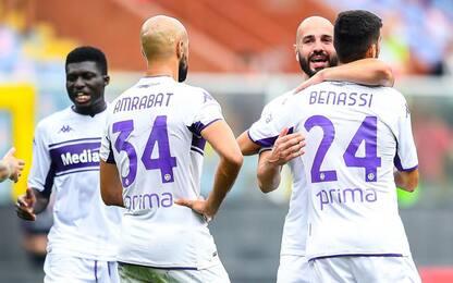 La Fiorentina vince anche col Genoa, Saponara super ed è 2-1