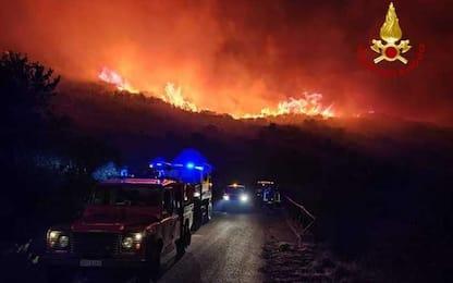 Incendio all'Elba, in corso operazioni spegnimento
