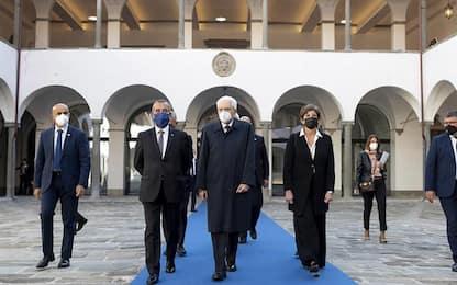 Mattarella a Pisa inaugura anno accademico Ateneo