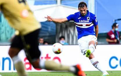 Samp-Spal 3-0 con Linetty poi Gabbiadini