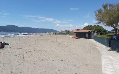 In 15 anni persi in Liguria 100 mila metri quadrati di spiagge
