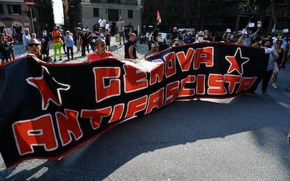 'Genova non si lega', Salvini contestato
