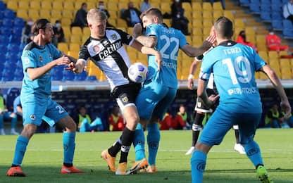 Calcio: Parma-Spezia 2-2, pari amaro per aquilotti