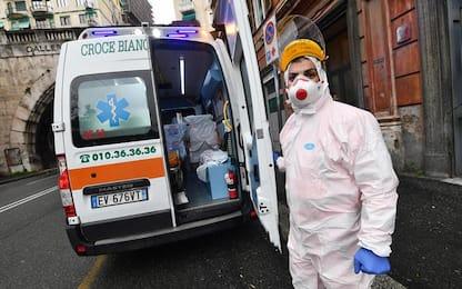 Covid: 1.127 nuovi casi, 877 solo a Genova. 14 morti