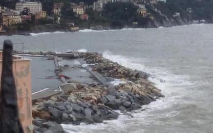 Accordo Rapallo-Bizzi per la diga del porto
