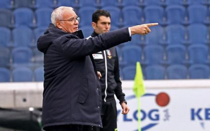 Samp: Ranieri, derby è passione, azzera tutto
