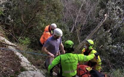 Climber precipita da 8 metri dalla falesia Tempio del Vento