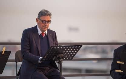 Covid:Genova,reading Castellitto per ricordare vittime virus