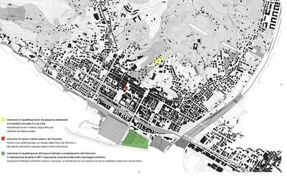 Chiavari sistema tessuto urbano