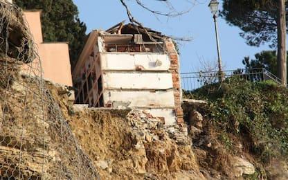 Crolla cimitero: sensore si muove, nuovi distacchi di roccia