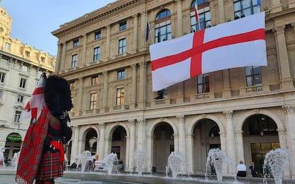Festa della Bandiera di Genova, srotolato vessillo