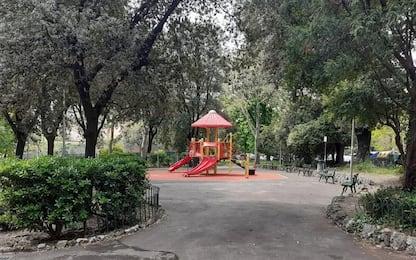 Anche aula didattica open air nei giardini Rosina a Genova