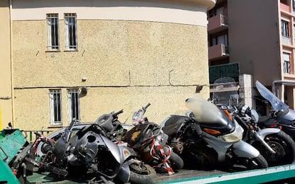 Comune Genova, rimossi 330 veicoli abbandonati