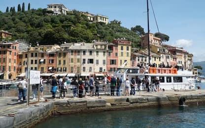 Turismo: prove di tutto esaurito a Portofino e nel Tigullio