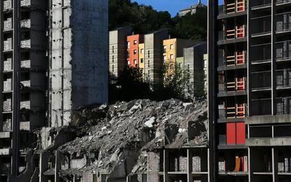 Diga Begato: Toti, demoliti già 15.000 metri cubi cemento