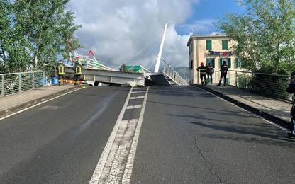 Crolla ponte darsena: messo in sicurezza, rientrano sfollati