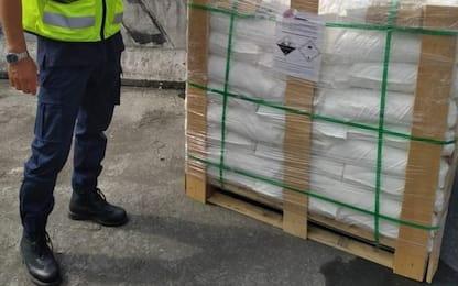 Bloccata in porto Spezia sostanza per armi chimiche