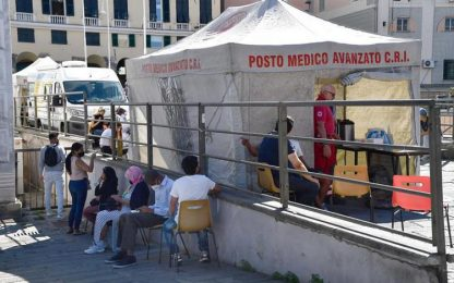 Vaccini: Genova, oltre 100 a campagna per senza fissa dimora