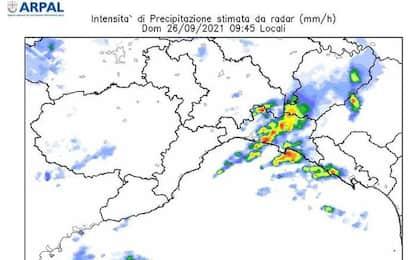 Maltempo: allerta arancione Liguria, forti piogge e fulmini