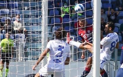 Calcio: Samp perde male a Cagliari e scivola in classifica