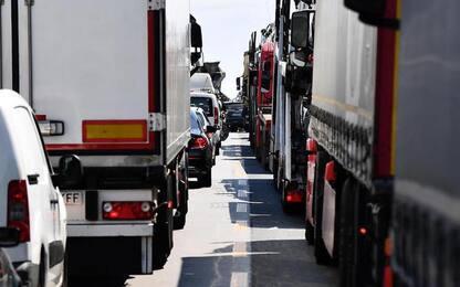 Cantieri autostrade: caos in nodo Genova, fino a 11 km di coda
