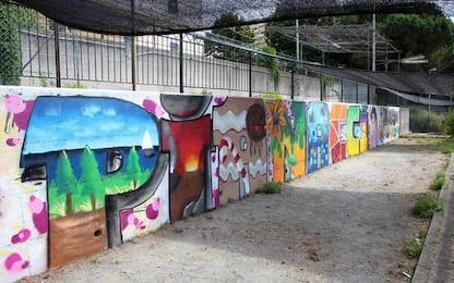 Genova, al Cep muri di libera espressione per i writers