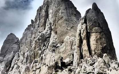 Alpini L'Aquila sanificano Rifugio Franchetti sul GranSasso