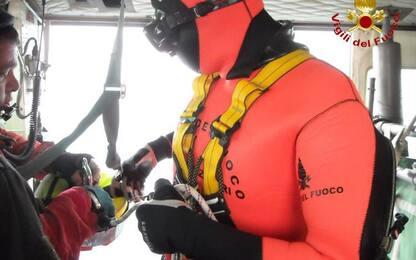 Reparto volo Vigili del Fuoco, a Pescara anche sommozzatori