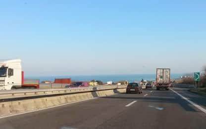 Disagi A14, oltre 7 km di coda in tratto Abruzzo