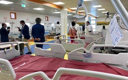 Lavori in tempi record, inaugurato Covid Hospital