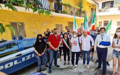 Migranti: presidio Lega contro arrivi in paesino Marsica