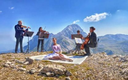 Concerto-spettacolo su Pizzo Cefalone sul Gran Sasso