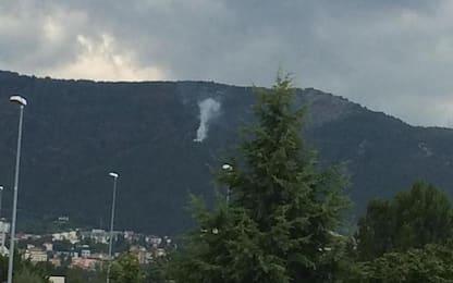 Incendi L'Aquila: visibili focolai, continua bonifica