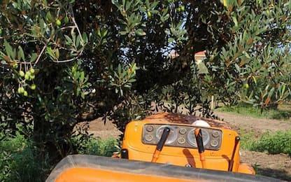 Incidente mentre pulisce campi vicino casa, muore 49enne