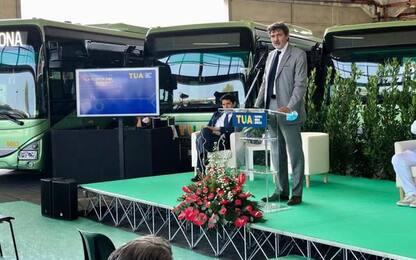 Scuole e trasporti, Tua Abruzzo presenta 19 nuovi bus