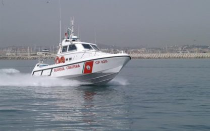 Recuperato corpo dell'uomo disperso ieri in mare Abruzzo