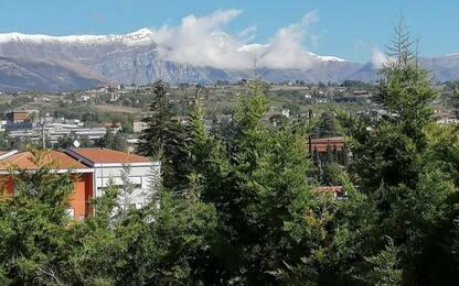 Maltempo: gelo in Abruzzo, -3.9 gradi a Campo Felice