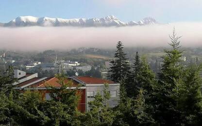 Autunno sulle montagne d'Abruzzo, Piani di Pezza -3.4 gradi