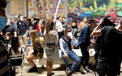 Dpcm: movida Pescara fa discutere da mesi,due zone a rischio